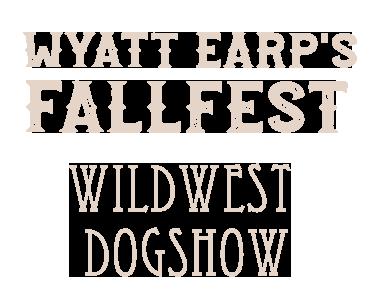 wyatt earp fallfest dog show