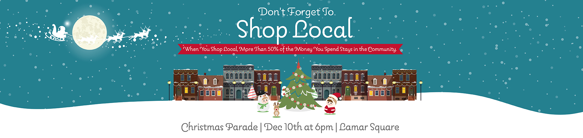 Lamar Missouri Shop Local Holiday Season
