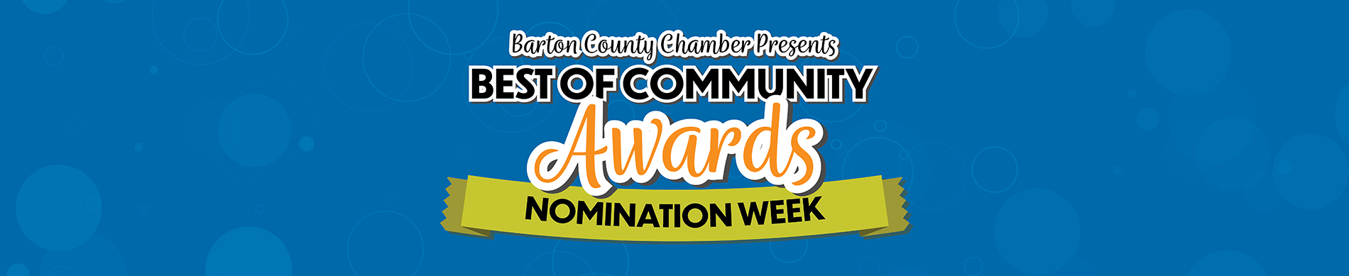Best Of Community Awards Nomination Week