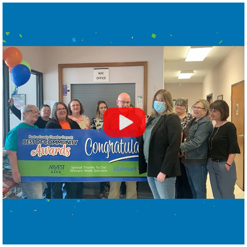 Joel Dermott and Barton County Health Department - Healthcare Provider of the Year 2021