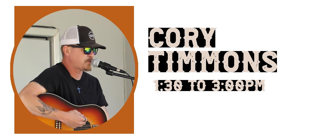 Cory Timmons Wyatt Earp Fallfest