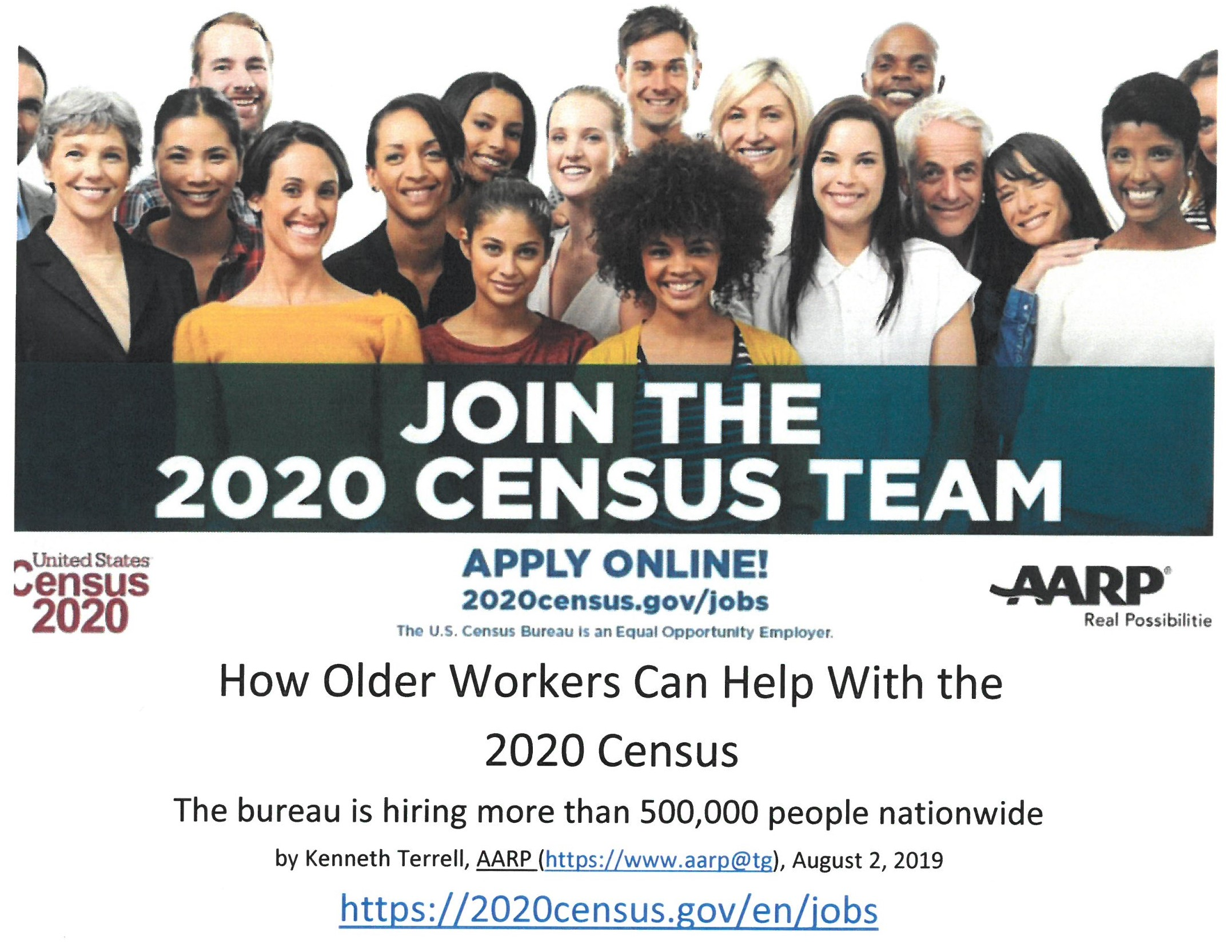 Census page cover