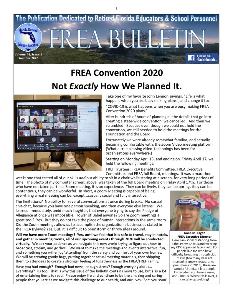 Summer Bulletin 2020 - Page 1