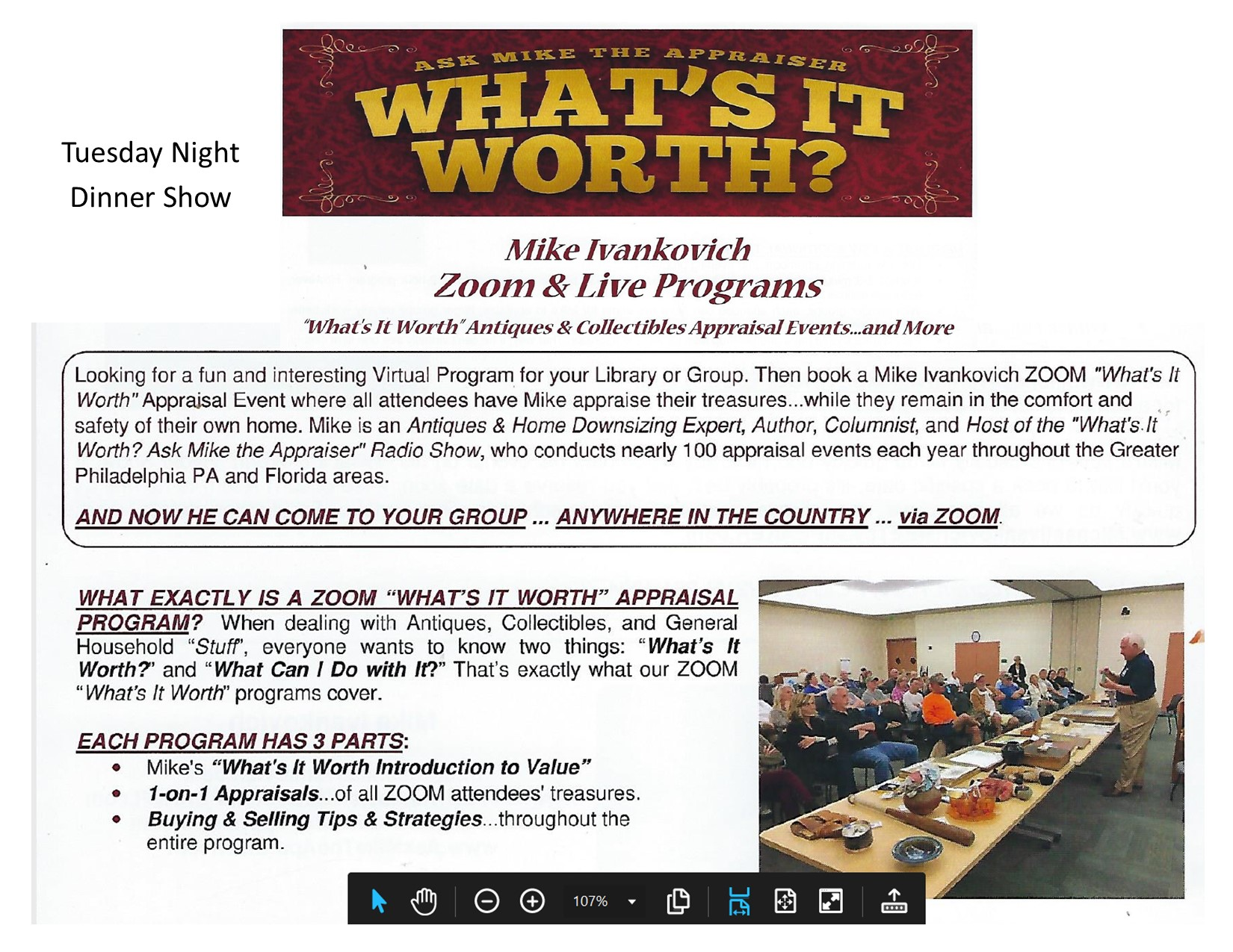 Mike Ivankovich Flyer for website