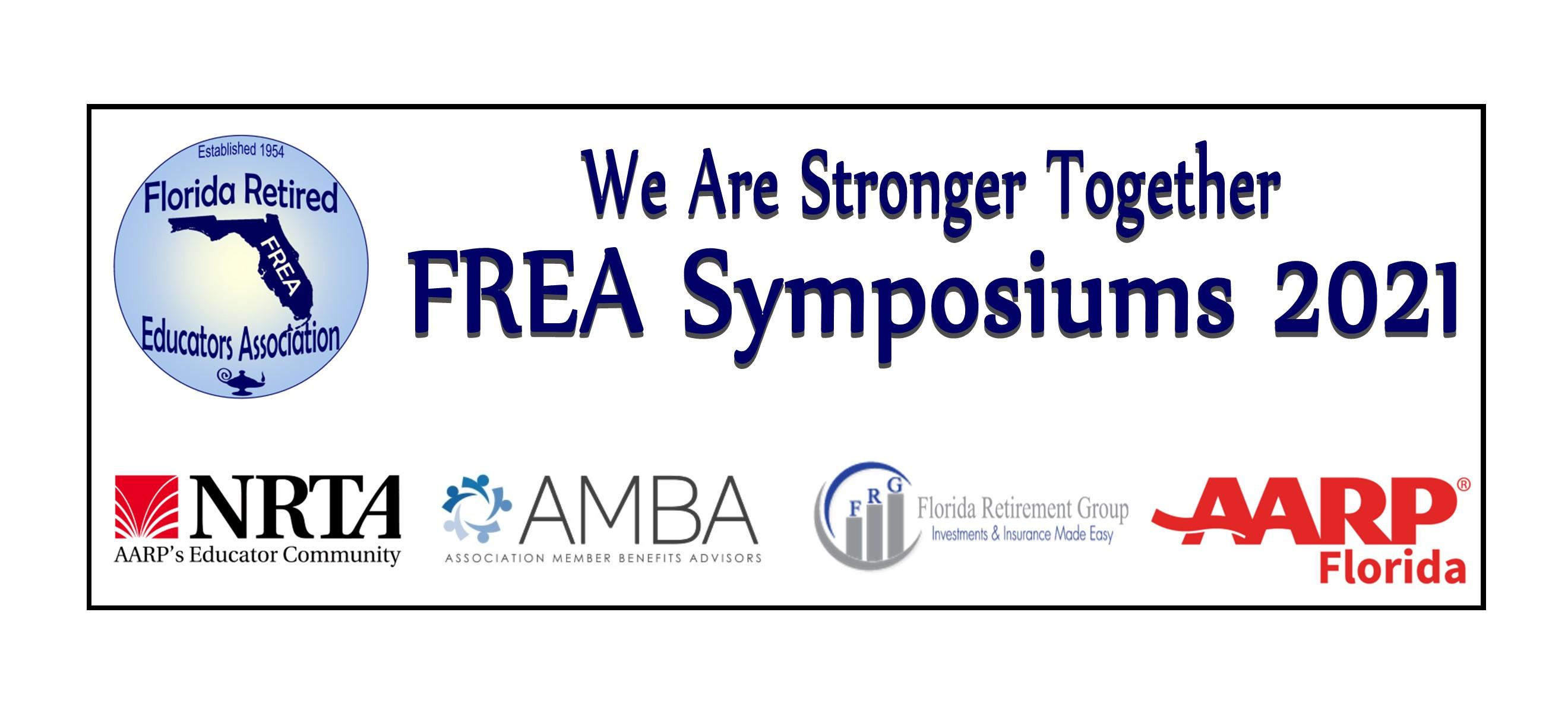 Symposium 2021 logo with partners new AARP