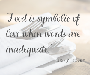 Food is symbolic