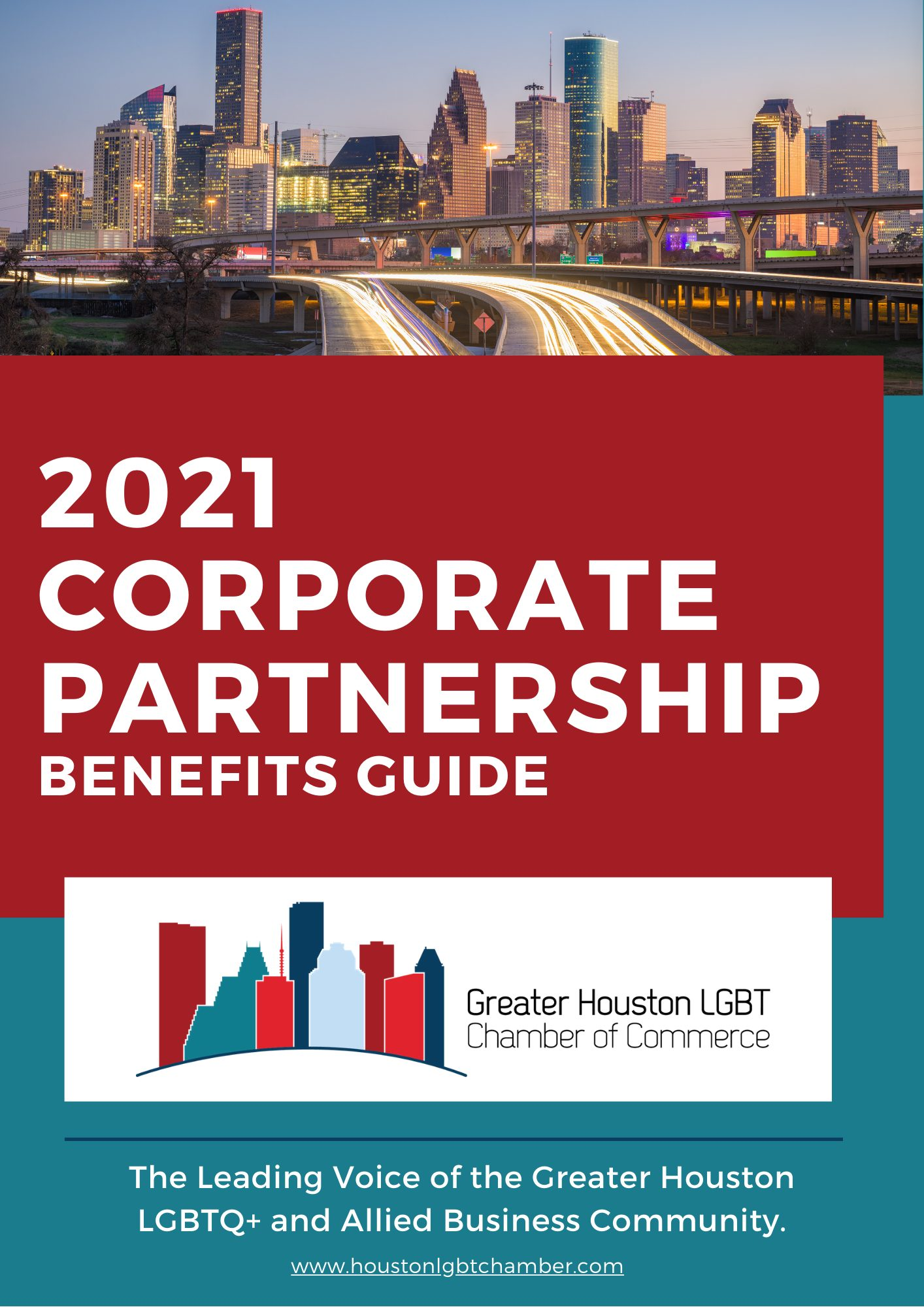 2021 Corporate Partner Benefits Guide Cover
