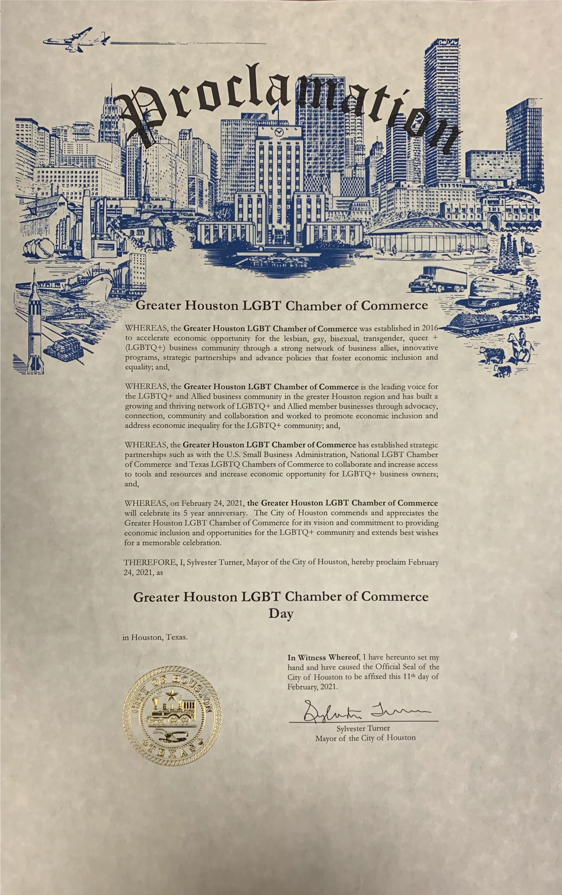 City-of-Houston---Chamber-5-Year-Anniversary-Proclamation-for-web