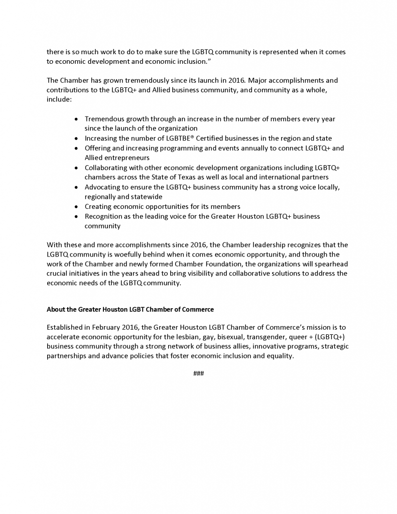 Greater Houston LGBT Chamber 5 Year Anniversary - Media Release Final_Page_2