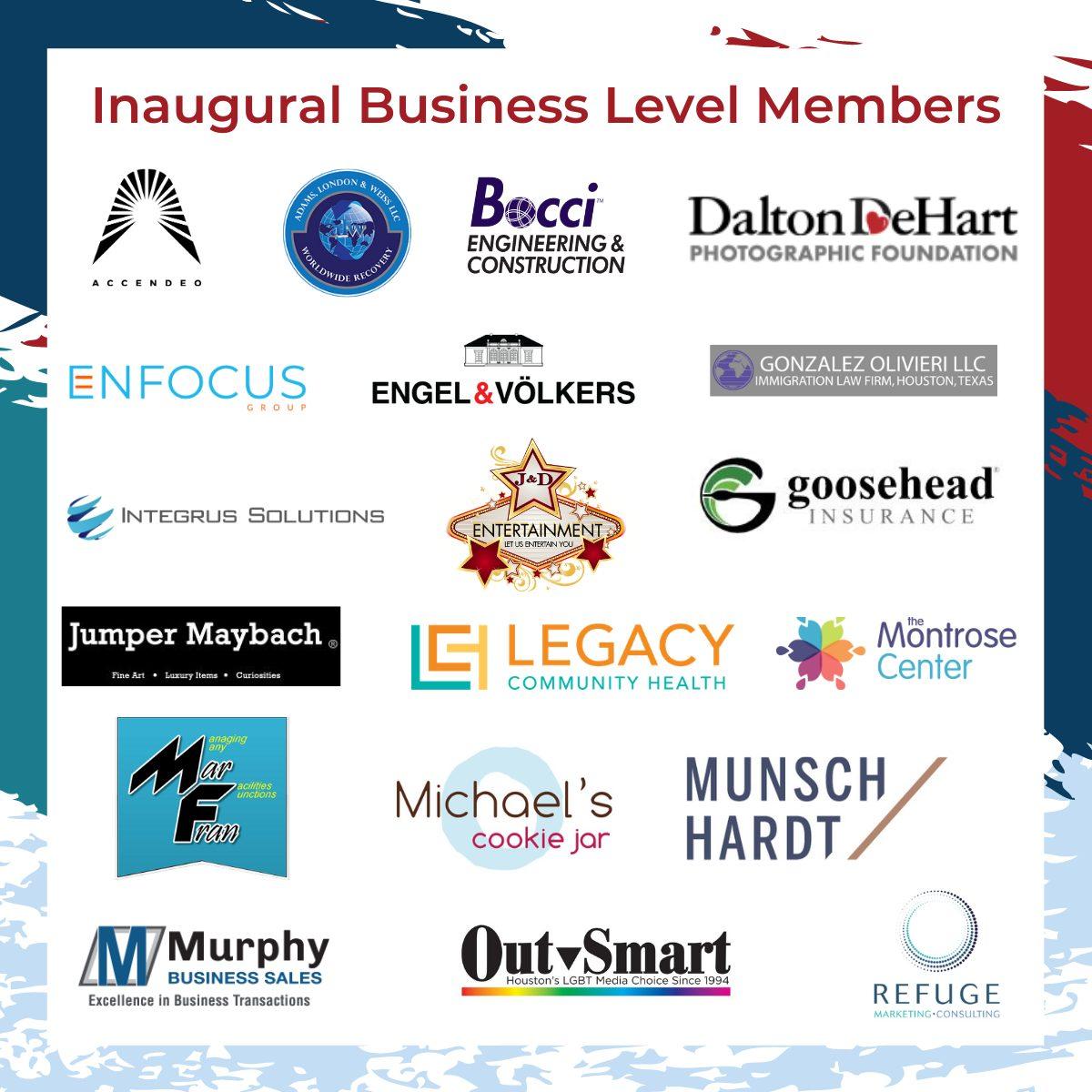 5th Anniversary Inaugural Business Level Members-2