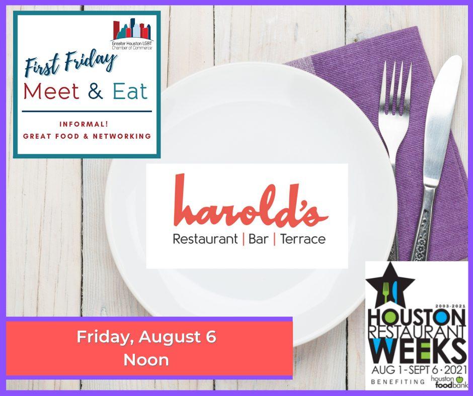 August - Harold's Meet & Eat - FB