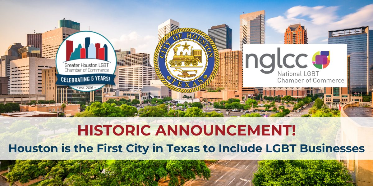 Houston First City LGBTBE