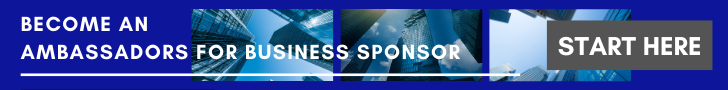 Become an Ambassadors for Business sponsorship banner