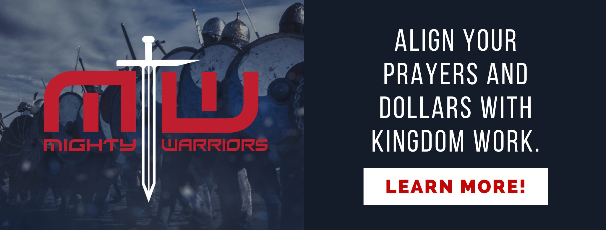Align your prayers and dollars with kingdom work by being a mighty warrior for Ambassadors for Business