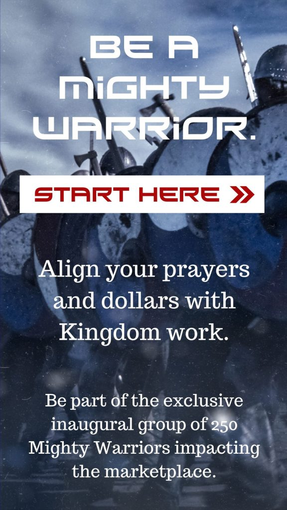 align your prayers and dollars with kingdom work - support ambassadors for business