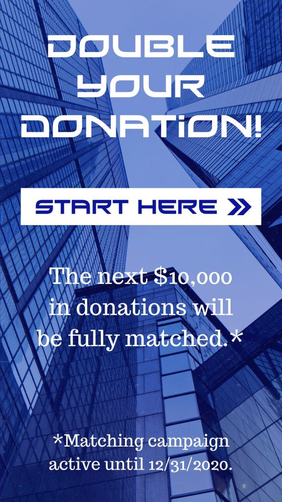Matching grant for Ambassadors for Business december 2020