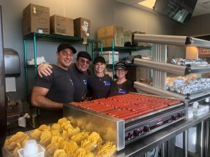 TCO Performance Center Concession Stand Volunteering Vikings Training Camp