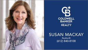 Susan McKay business card with photo