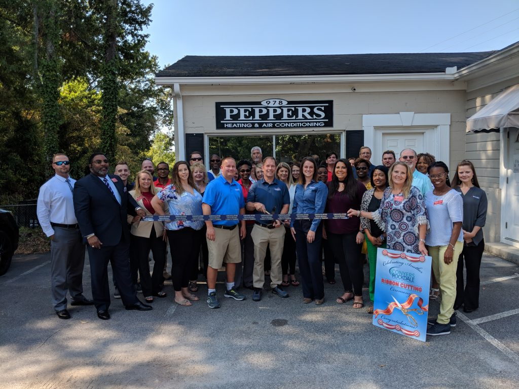Peppers Heating & Air Conditioning Ribbon Cutting
