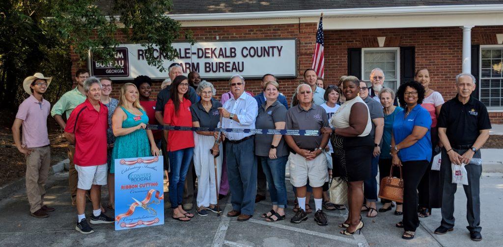 Rockdale-Dekalb County Farm Bureau Ribbon Cutting