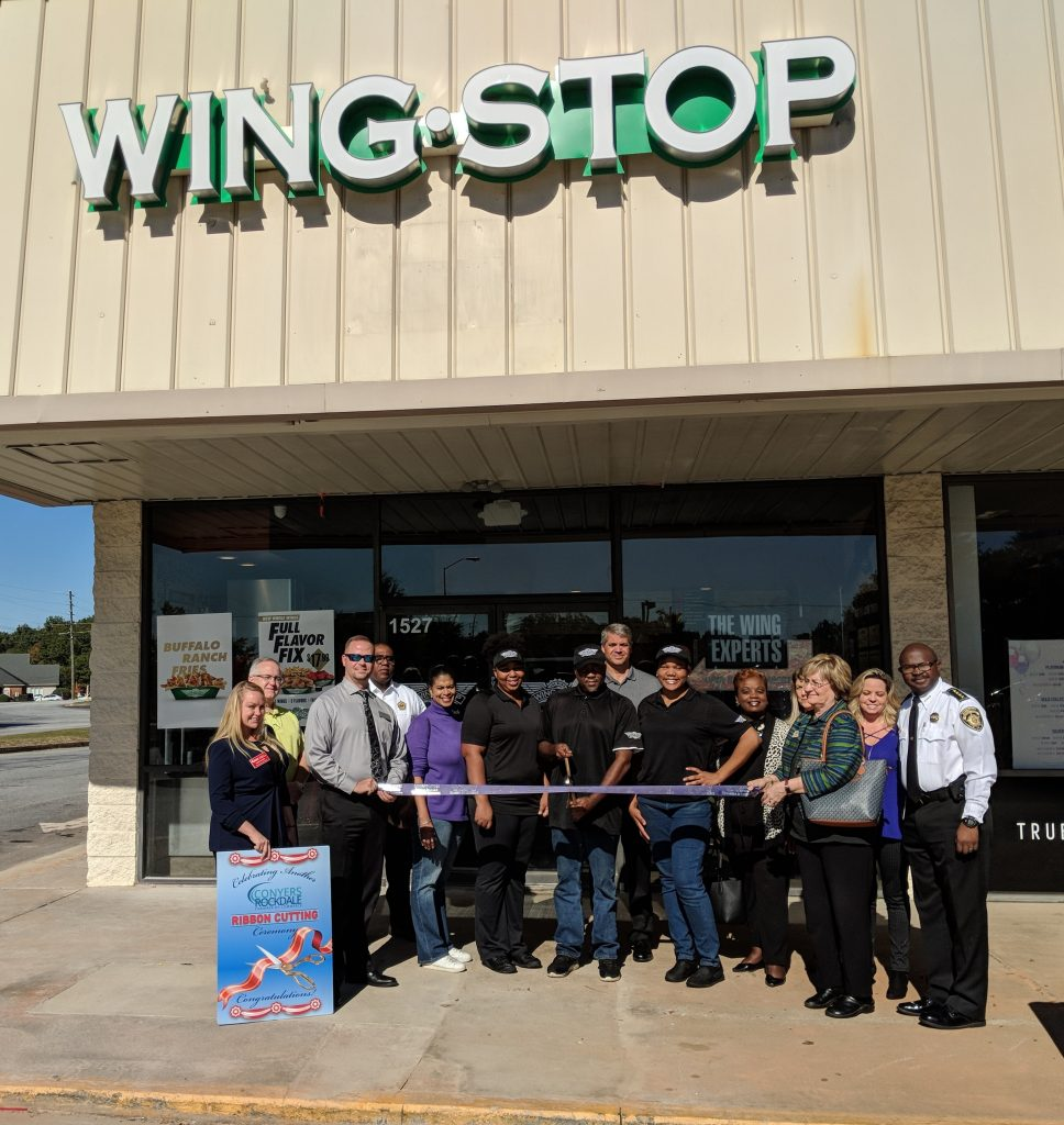 Wing Stop Ribbon Cutting