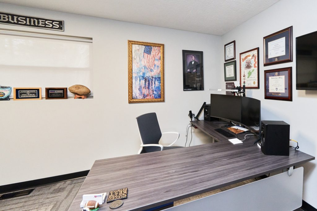 Wooster Motor Ways President and CEO Office