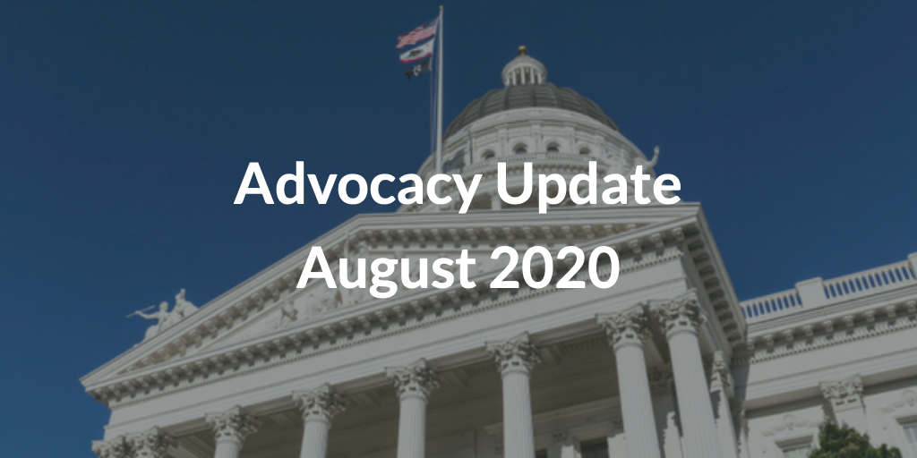 Advocacy Update August 2020