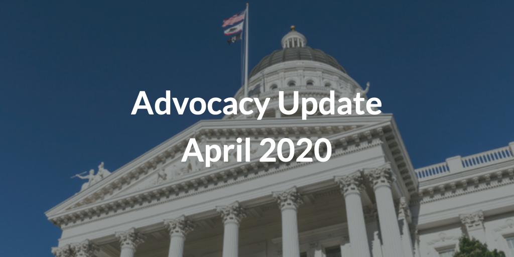 Advocacy Update April 2020