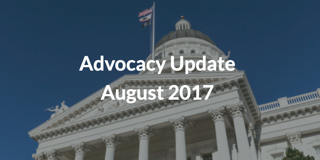 Advocacy Update August 2017