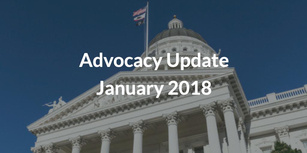Advocacy Update January 2018