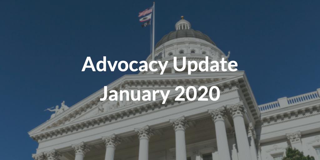 Advocacy Update January 2020