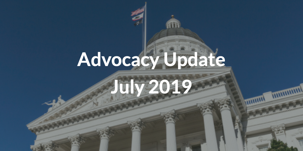 Advocacy Update July 2019