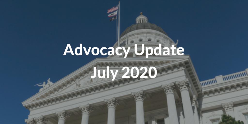 Advocacy Update July 2020