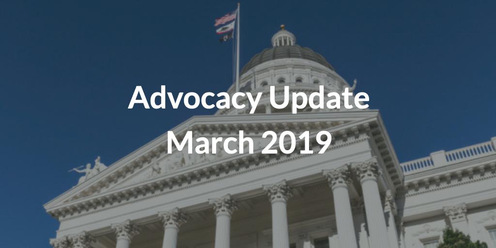 Advocacy Update March 2019