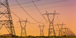 electric-power-lines-and-transmission-tower-electric-grid-at-sunset-picture
