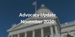 Advocacy Update November 2020