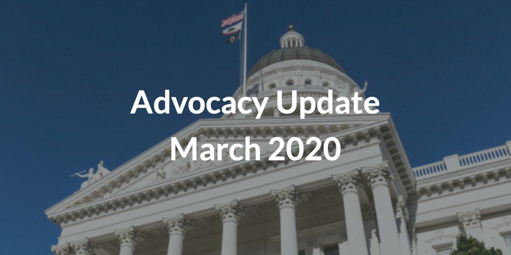 Advocacy Update March 2020