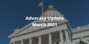 Advocacy Update March 2021