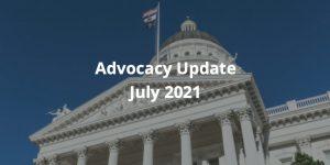Advocacy Update - July 2021