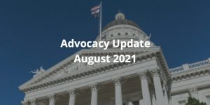 Advocacy Update August 2021