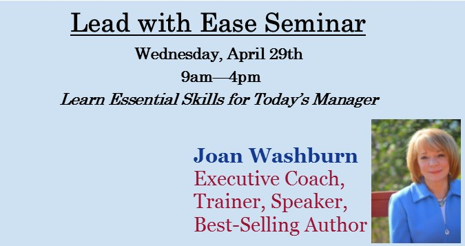 Lead With Ease Seminar