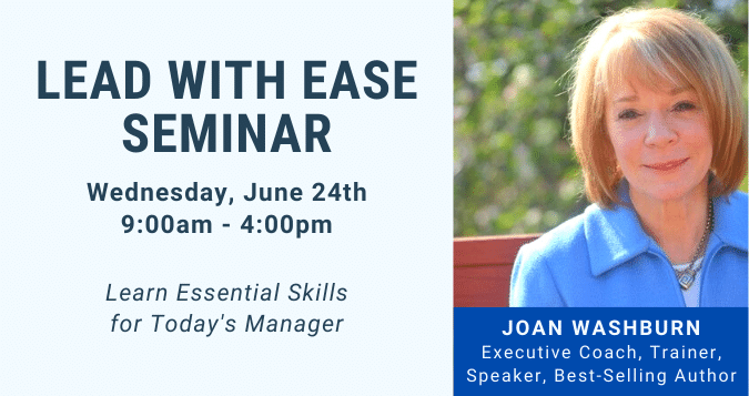 Lead With Ease Seminar - June 24th