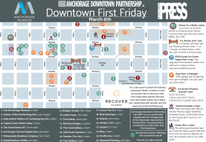 Anchorage Dowtown First Friday Event March 2020