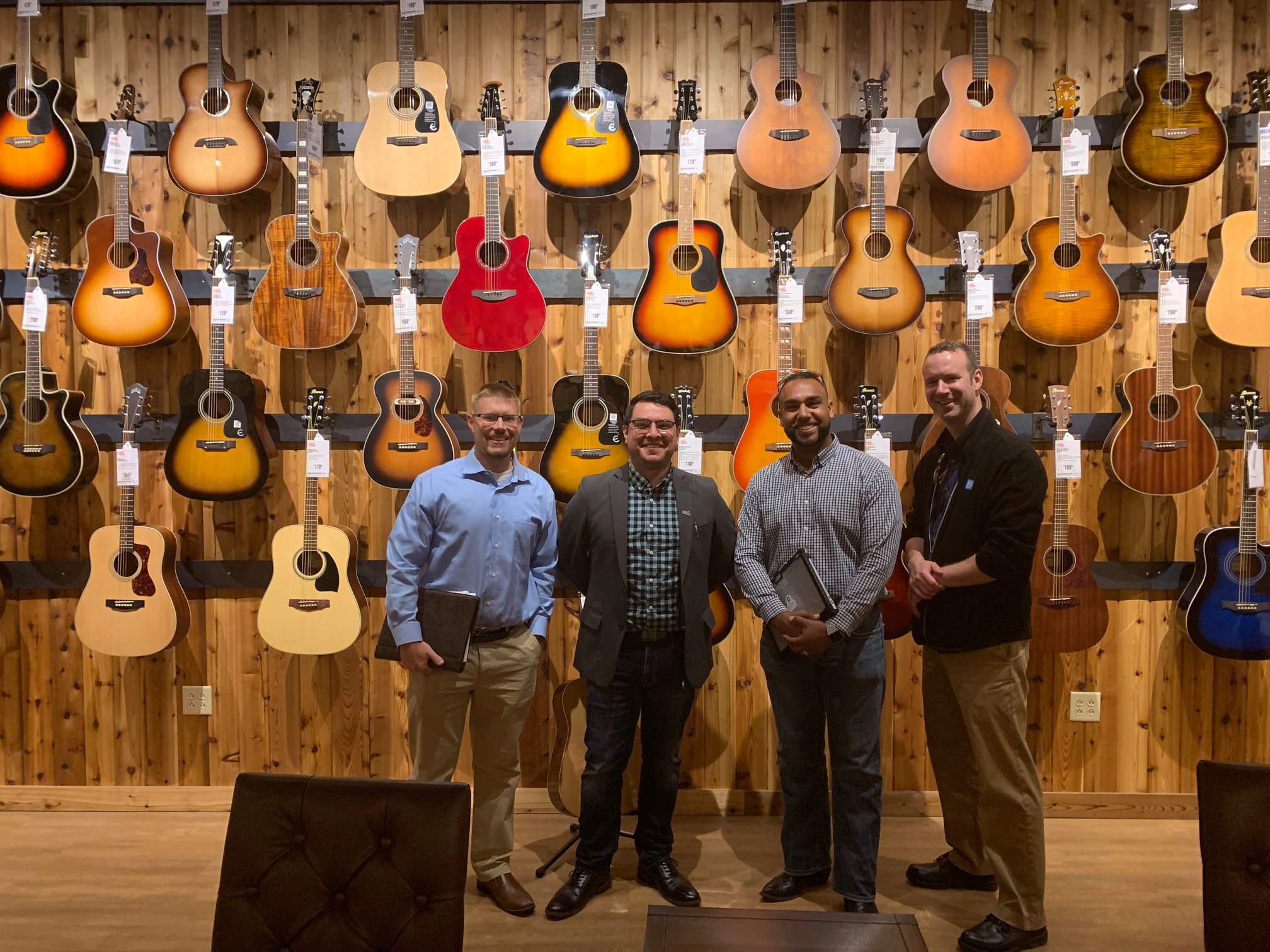 Guitar Center Ribbon Cutting Ambassadors