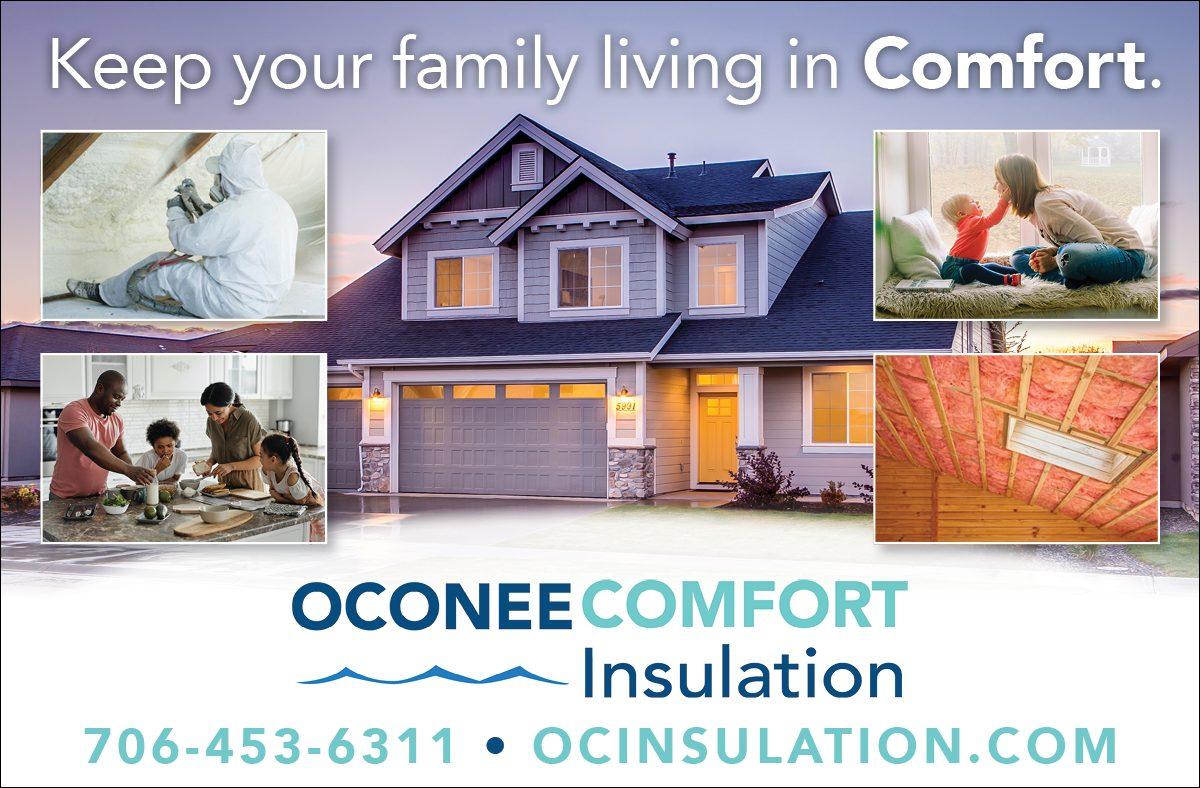 Oconee Comfort- Website Ad