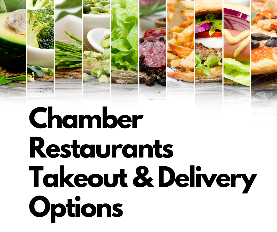 Chamber Restaurants Takeout & Delivery Options