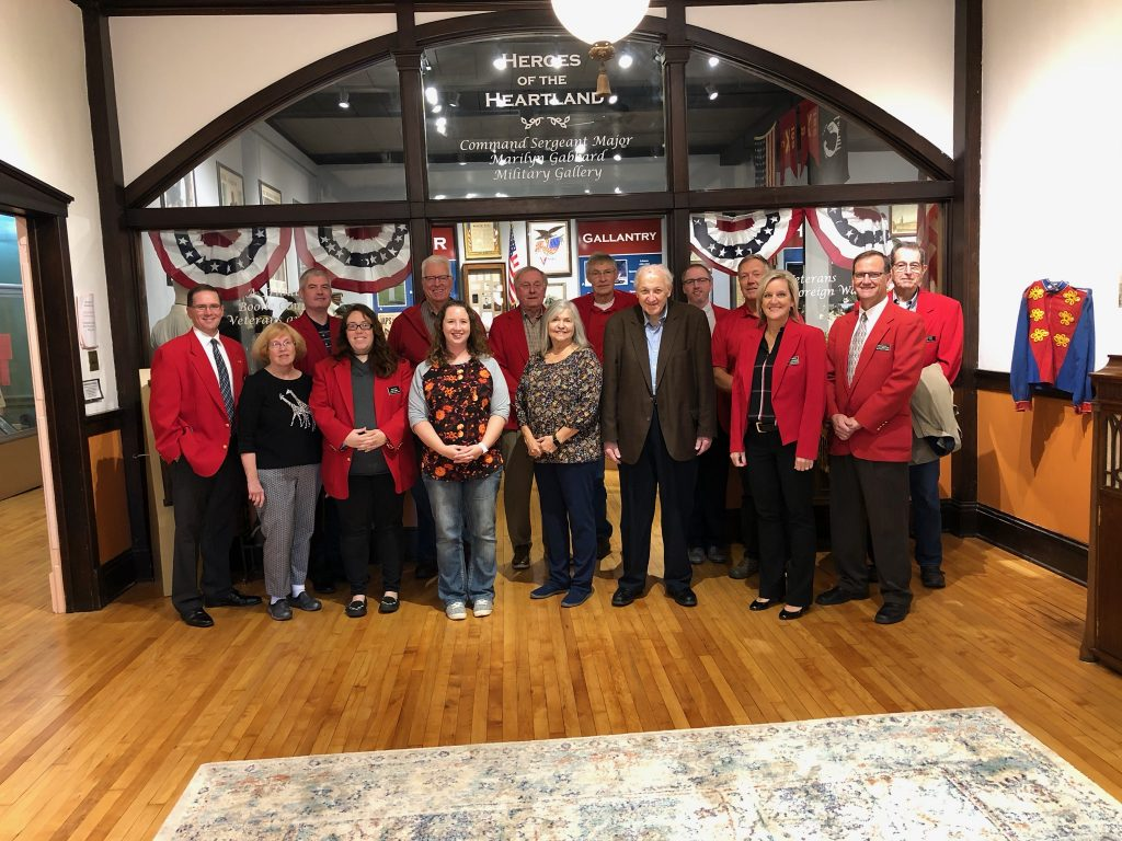 Chamber Ambassadors hosted a courtesy call with the volunteers of Boone County Historical Society (602 Story Street) on October 15.