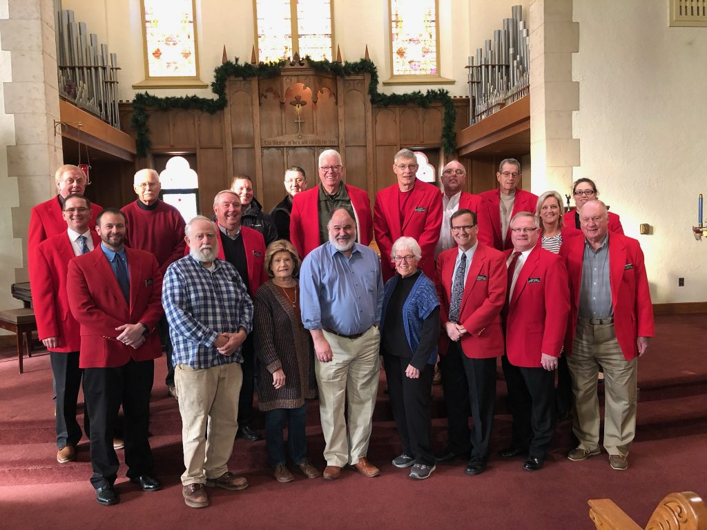 Chamber Ambassadors hosted a courtesy call with staff of First United Methodist Church (703 Arden Street) on December 10.
