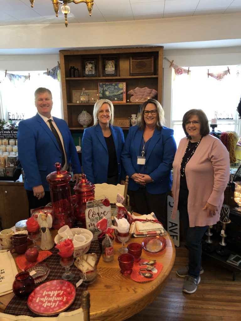 Ogden Ambassadors hosted a courtesy call with Jennifer Wheeler, Owner of Remedies Salon & Gifts (325 E. Walnut) on January 16.