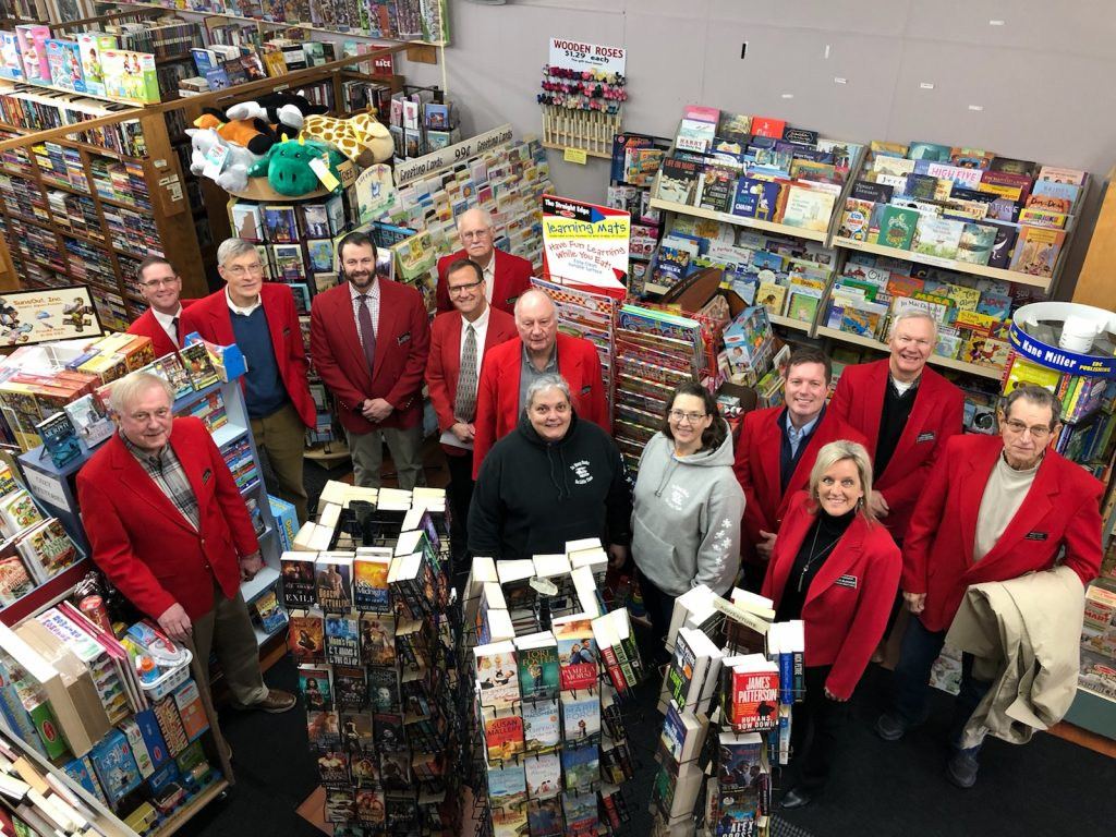 On January 14, Chamber Ambassadors hosted a courtesy call with Susan Schafer, owner and staff at The Book Shoppe (817 Story Street).